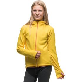 Houdini Jr Power Houdi Jacket Buttercup Yellow